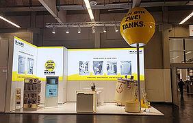 Haase Tank auf der IFH intherm in Nürnberg