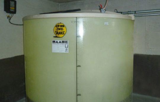Kellertanks von Haase sind doppelwandig aufgebaut und absolut geruchsdicht.