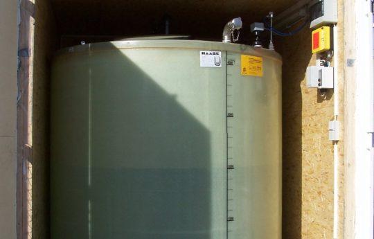 Haase-Lagerbehälter für AdBlue für eine Tankstelle