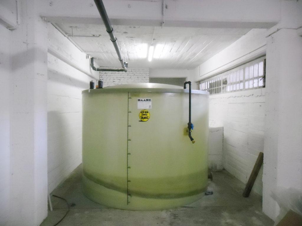 Den Haase-Speiserestetank gibt es in 10 verschieden Durchmessern.