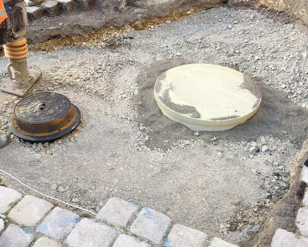 Eine schnelle und dauerhafte Lösung für das Restaurant und die Stadt Esslingen. Sie sparen sich durch den Haase-Fettabscheider aufwändige Sanierungsmaßnahmen.
