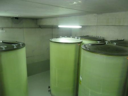 Alle Haase-Flachbodentanks haben einen Durchmesser von 1,70m, eine Höhe von 3m und ein Nutzvolumen von 6,2m³.