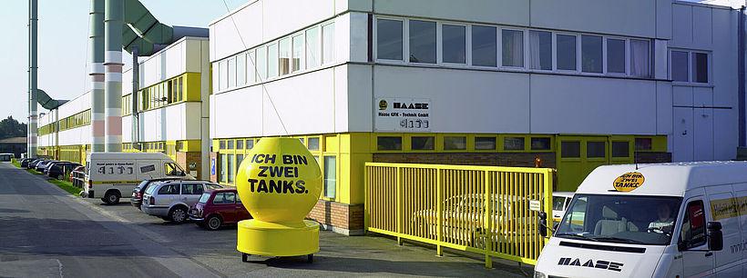 Zu Beginn der 1990-er Jahre noch reiner Produktionsbetrieb, befindet sich mittlerweile auch die Zentrale der Haase Tank GmbH in Großröhrsdorf.