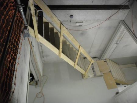 Der Zugang zur Baustelle war nicht ideal, aber für die Haase-Flachbodentanks kein Problem.