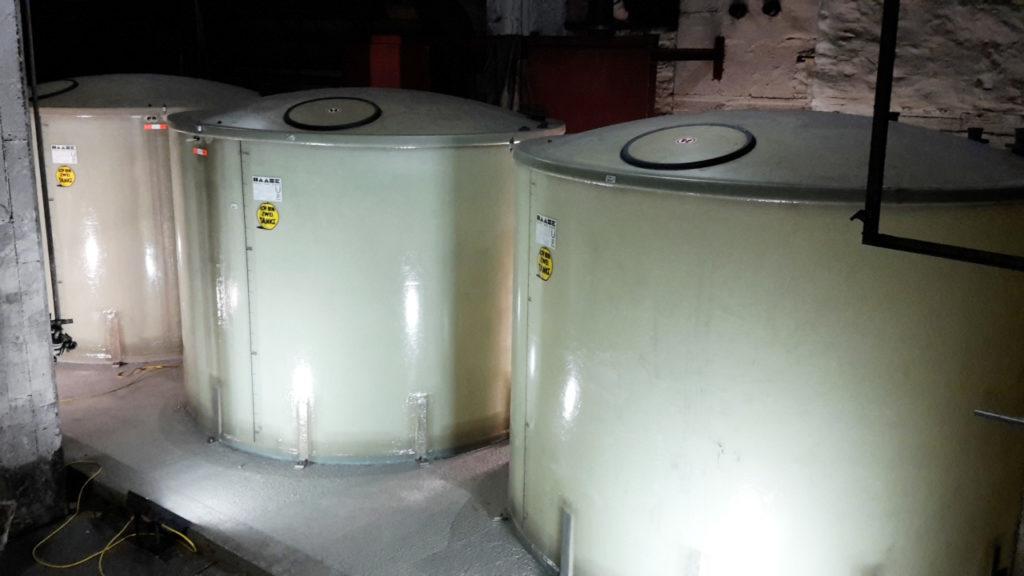 Die Tanks vom Typ SV30-144 C3/D haben jeweils ein Volumen von 14.400 Litern.