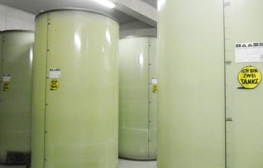 In Frankreich wurden sieben Haase-Flachbodentanks montiert.