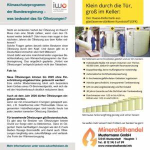 Vorlage Flyer Ölheizung