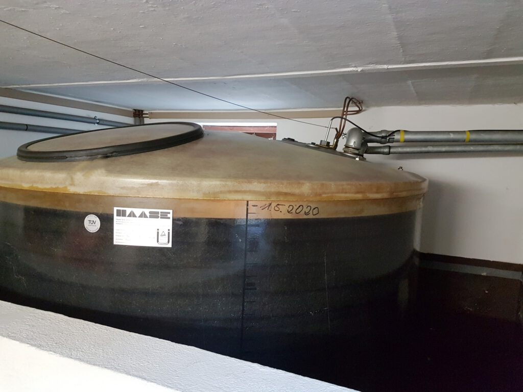Man sieht: Der Kunde hat die schon seit längerer Zeit sehr niedrigen Heizölpreise genutzt, um den Tank vor dem Winter zu füllen.