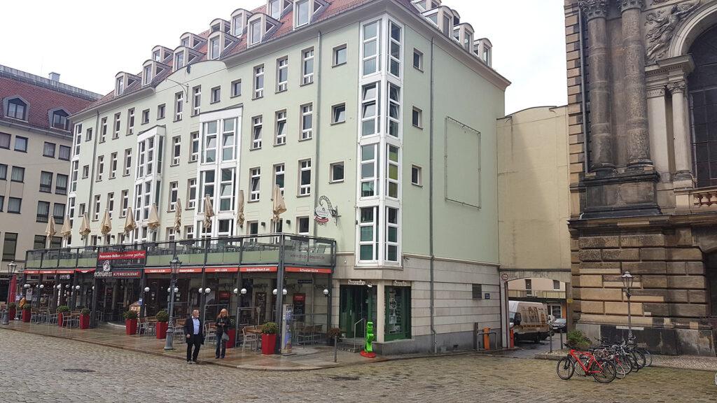 Das traditionsreiche edelweiss Alpenrestaurant im Zentrum von Dresden