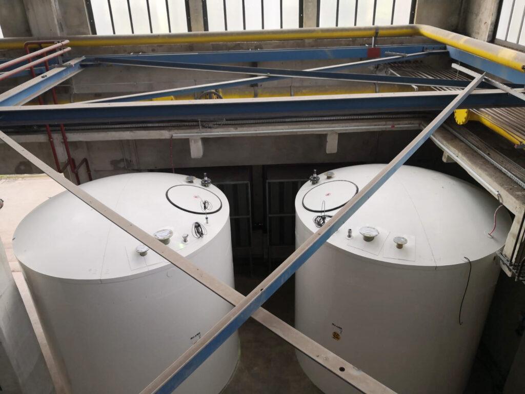 Wegen der Gegebenheiten in der Werkshalle war die Montage vor Ort aus technischen, zeitlichen und Kostengründen die optimale Lösung.