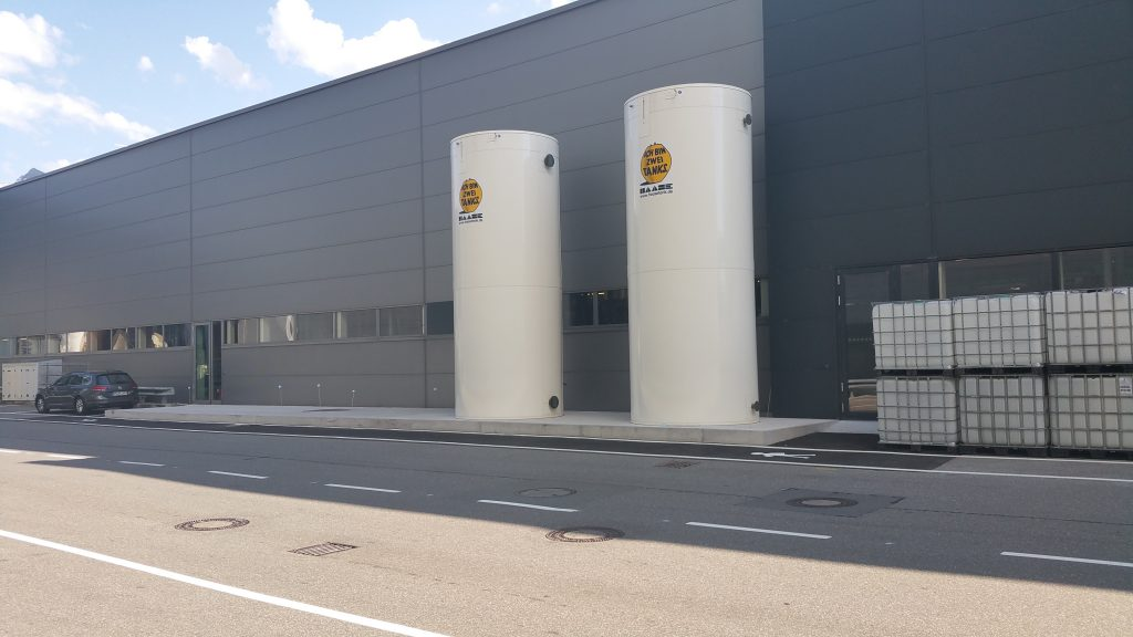 The two Haase storage systems now help to further increase the energy efficiency of the manufacturing process.