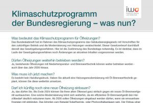 Themenblatt zum Klimaschutzprogramm